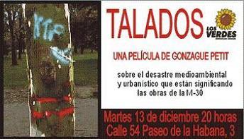 LOS VERDES PRESENTAN EL DOCUMENTAL TALADOS