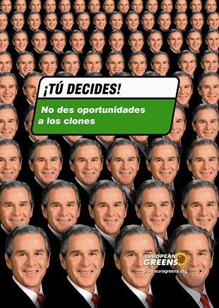 CUANDO VAYAS A VOTAR  TEN CUIDADO CON LAS CANDIDATURAS DE LOS CLONES.....