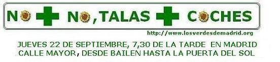 MANIFESTACION EN MADRID, POR UN MADRID HABITABLE