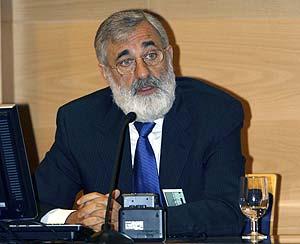 Moreno, durante la presentación del informe. (Foto: EFE)